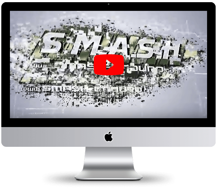 SMASH logo reveal